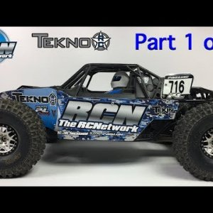 Tekno DB48 1/8th Desert Buggy - Build Series - Part 1 of 2 - Unboxing/Plans