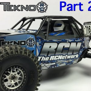 Tekno DB48 1/8th Desert Buggy - Build Series - Part 2 of 2 - Modifying