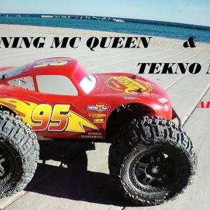 Tekno MT410 featuring Lightning McQueen    BEST RC TRUCK